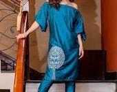 Sanober Azfar, salwar kameez, original collection, chiffon, net, pakistani designer