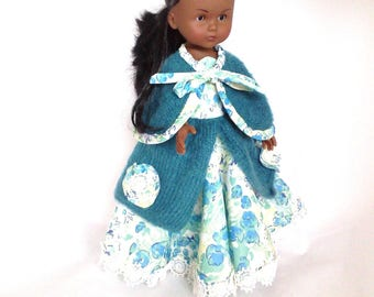 Ball gown for doll Les Chéries, or for doll 33 cms