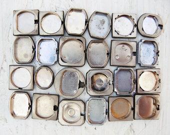 Vintage Watch Back Lids - set of 27 - c47