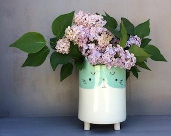 My beautiful cat pot