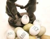 Rae Dunn Inspired Easter Egg Decals