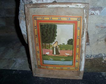 Antique India Frame Wooden