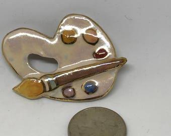 Artist's Pallette Pin