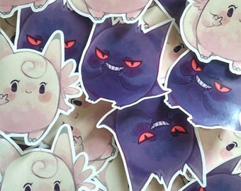 Ghosty Fairy Stickers (50% OFF)