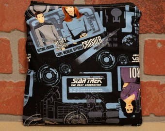One Sandwich Bag, Reusable Lunch Bags, Waste-Free Lunch, Machine Washable, Star Trek, Sandwich Sacks, item #SS89