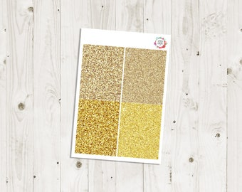 Gold Glitter Headers - ECLP Stickers