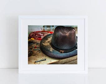 Sheriff's Hat - Urban Exploration - Fine Art Photography Print