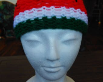 watermelon beanie/hat