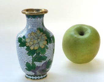 Sweet Cloisonné Vase made in China