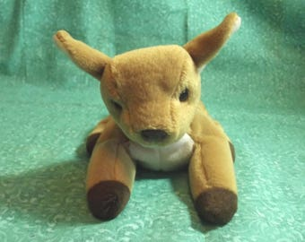 """BEANIE BABY - """"WHISPER"""" the baby fawn"""