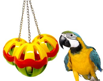 Bonka Bird Toys 1479 Huge Plastic Three Ball