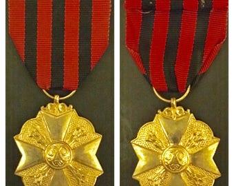 Belgium civil medal 1st class