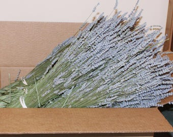 10 Dried Lavender Bundle Bunch  wholesale  (Each Bundle is 4 Oz for a total of 40 OZ)