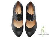 Vegan ballerina shoes, Vicky, handmade vegan shoes