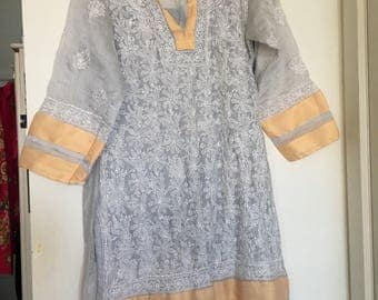 Embroidered kirta size sm med