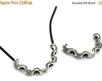30% OFF Textured Curved Tube Necklace Slider II Qty. 1
