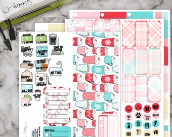 PEPPERMINT LATTE - Weekly Deluxe Planner Kit - Hobonichi Cousin