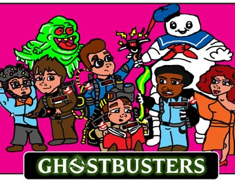 Ghostbusters Print