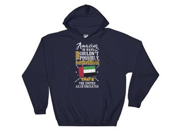 My Country is United Arab Emirates Amazing Flag Hoodie