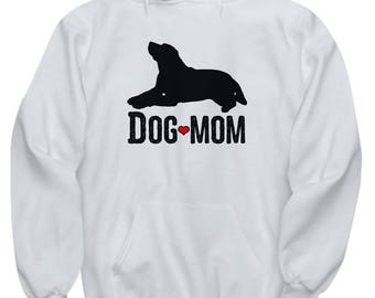 Dog Mom Mother's Day Gift Animal Lover Rescue Love Hoodie Hooded Sweatshirt