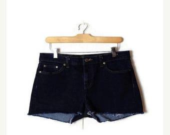 ON SALE Ralph Lauren Denim cut off Shorts from 90's/W31*