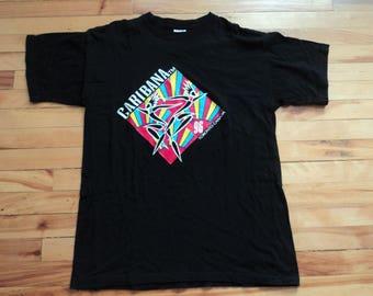 Vintage '96 Toronto Caribana Large 100% Cotton T Shirt VTG