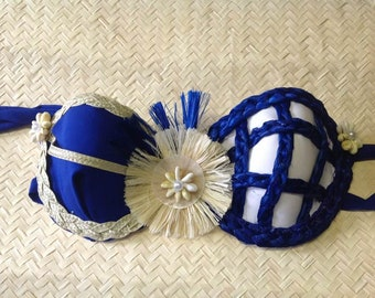 Tahitian & Cook Islands Costume Bra Top. Listing is for young girls and adult.