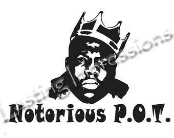 Notorious P.O.T. / Notorious Big / Instant Pot or Crock Pot Vinyl