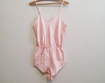 Pink Teddy Bodysuit Small -  Beautiful Design
