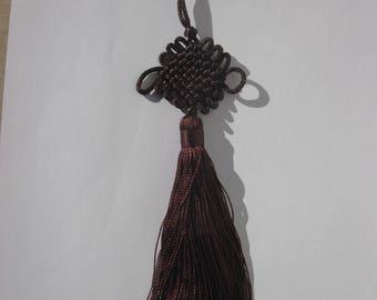 for Brown 22 cm high total (1) Tieback tassel
