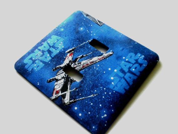 Star Wars Double Light Switch Plate Wall Decor