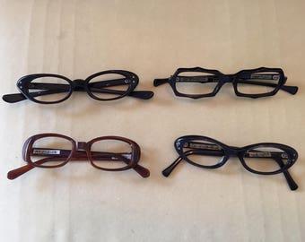 vintage eyeglasses frames lot new old stock