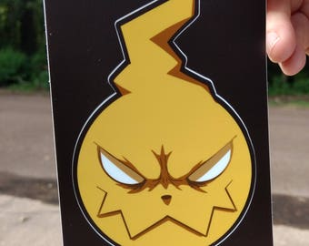 Soul Eater Anime Decal