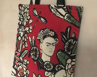Frida  tote bag (red)
