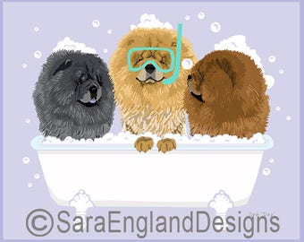 Spa Day - Chow Chow