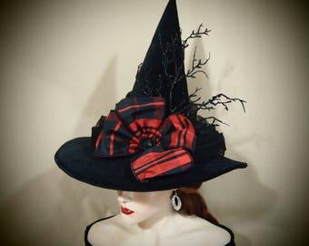 """Witch Hat """"Plaid Pizazz"""""""