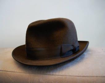 Man style 1940 Jean Moulin Hat