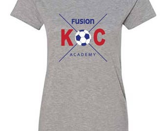 KC Fusion Academy and Club Tees