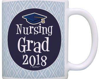 Great Gift for Nursing Student Nursing Grad 2018 - M11-2857