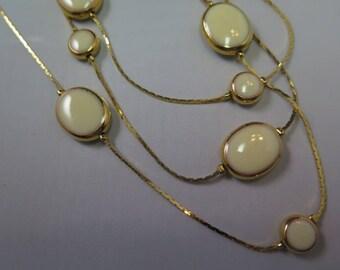 Triple Strand Avon Necklace