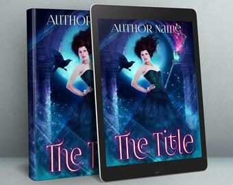 fantasy premade book cover art