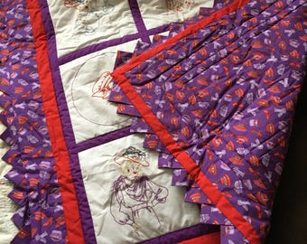 Red Hat Society Wall Hanging  SOLD