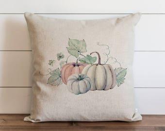 Pumpkin {Style 6} 20 x 20 Pillow Cover // Cinderella Pumpkin // Fall // Autumn // Thanksgiving // Throw Pillow // Gift for Her // Accent
