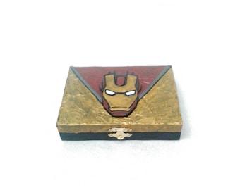 Iron Man Playing Card Box, Iron Man box