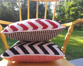 Reversible Decorative Pillow