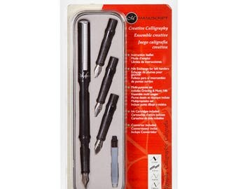 Manuscript Creative Calligraphy Pen Set - 11 pieces (darmsc1105)