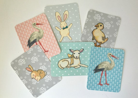 Assorted Baby Cards/ Enclosures