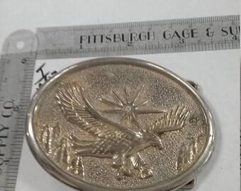 10% OFF 3 day sale Vintage used silvertone eagle Belt Buckle