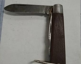 10% OFF 3 day sale Vintage used  klein tools 2 blade knife lot FA