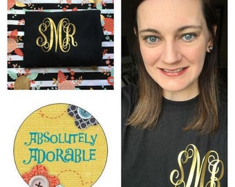 Gold Monogram Shirt Deal